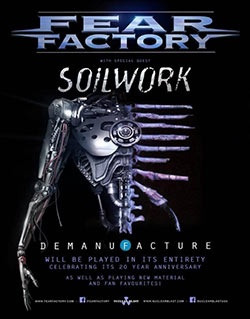 Fear Factory Demanufacture NA 2016